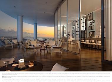 The Ritz-Carlton Residences, Sunny Isles Beach - 13 Club Terace Intracoastal