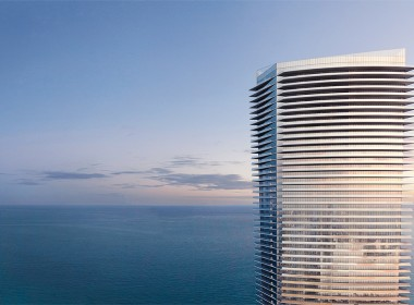 RBAC - West Facade with Ocean View