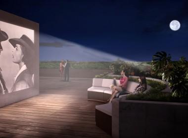 Sunset Deck Outdoor Cinema