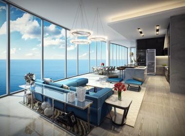 Uffizi Family Room & Kitchen